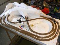 Dan Becker's Model Trains - Building a Table