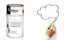 Skoltavelfärg eller griffeltavelfärg och magnetfärg har funnits på burk sedan några år tillbaka. Men nu kommer en nyhet från Flügger ut på marknaden, Interior Whiteboard Finish. Med hjälp av denna färg kan du skapa din egen whiteboardtavla direkt på väggen. Färgen rullas på med en korthårig roller och fungerar på all väggfärg, tapet och andra släta ytor såsom dörrar och luckor.Om du vill skapa en magnetisk whiteboardtavla grundar du två gånger med Flügger Interior Magnetic Board innan…