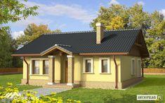 Proiectul BOGNA 1 propune o casa simpla, practica si economica. Volumul simplu al casei, cu acoperis in 2 ape, se aseaza pe o amprenta patrata. Zona de intrare si terasa sunt amenajate prin intermediul unui portic si al unei pergole.