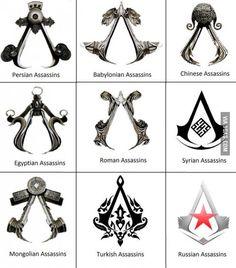 Assassin symbols