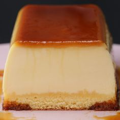 Desserts Recipes Purunpurun ♪ two layers of pudding cake Just Desserts, Delicious Desserts, Yummy Food, Tasty, Flan Recipe, Pudding Cake, Sweet Recipes, Baking Recipes, Food And Drink