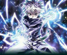 Killua Zoldyck Hunter X Hunter 2019 - Anime Wolf Killua, Hisoka, Hunter X Hunter, Hunter Anime, Manga Anime, Anime Eyes, Zoldyck, Hxh Characters, Susanoo