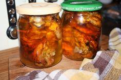 Pieczony kurczak w słoikach , kuchnia na wyjazdy - Ogrodnik w podróży Tandoori Chicken, Salsa, Recipies, Curry, Menu, Jar, Baking, Ethnic Recipes, Food