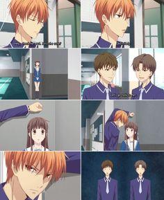 Back off boys she's taken Anime Couples Manga, Cute Anime Couples, Manga Anime, Anime Kiss, Manga Girl, Fruits Basket Quotes, Fruits Basket Manga, Grand Prix, Animes To Watch