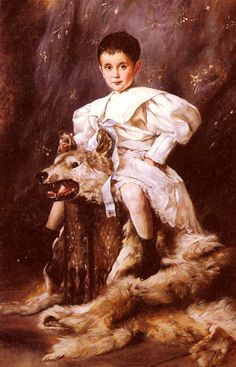 1873 Joseph Arpad Koppay - A Portrait Of Kaiser Karl, Archduke Of Austria