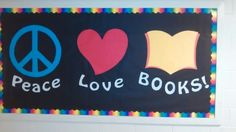 Bulletin board-Feeling Groovy Bookfair