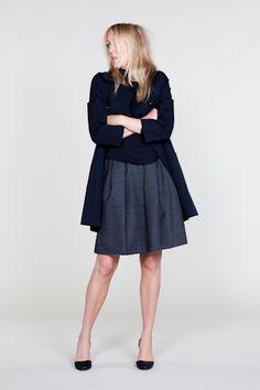vintage inspired a-line skirt