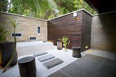 outdoor bath - dreamy