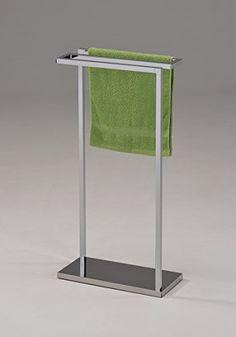 Kings Brand Furniture Chrome Finish Metal Free Standing Towel Rack Stand Kings Brand Furniture
