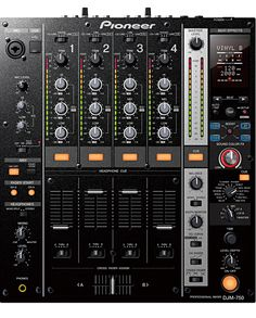 Pioneer's new four-channel digital mixer takes FX manipulation and software synergy to new levels, thanks to the new Boost Colour FX and a built-in kHz USB sound card. Location Paris, Location Table, Techno, Music Production Equipment, Music Mixer, Allen And Heath, Digital Dj, Instruments