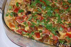egg plant - aubergine Bulgarian recipe in the owen Ovo Vegetarian, Vegetarian Recipes, Raw Food Recipes, Dinner Recipes, Bulgarian Recipes, Romanian Food, Eggplant, Vegetable Pizza, Quiche