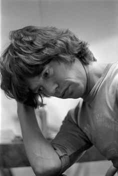 Mick Jagger - 1977 Mick Jagger Young, Mick Jagger Rolling Stones, Billy Preston, John Mayall, Ronnie Wood, Charlie Watts, Keith Richards, Hippie Outfits, Rock Stars