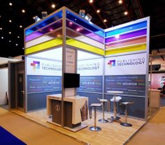 Octanorm Maxima Light Exhibition Stand.  Counters!!