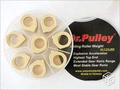 Set de 8 galets Dr Pulley Piaggio MP3 400 500