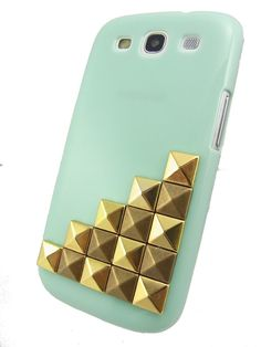 Samsung galaxy s3 case Pyramid Stud Hard samsung by AliceStudioHK, $13.99