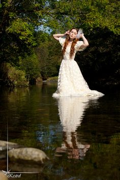 lady of the lake by Raspberry-Jam-Model.deviantart.com on @deviantART