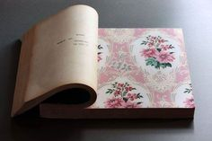 Remember these wallpaper sample books? They weighed a ton, and had a very distinctive smell!