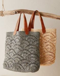 Shop beach accessories at Garnet Hill. Get vacation ready with sunny beach accessories including raffia tote bags, sun hats, sunglasses, and more. Tulum, Italian Leather Handbags, Leather Purses, Crochet Tote, Beach Accessories, Luxury Bags, Handmade Bags, Handmade Leather, Vintage Leather