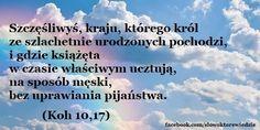 Słowo, które wiedzie: Koh 10,17