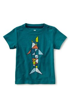 'Ceramic Shark' Graphic T-Shirt (Toddler Boys & Little Boys)