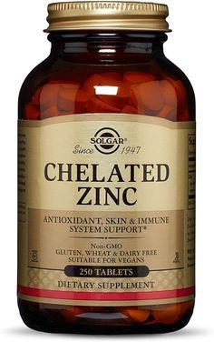 Best Zinc Supplement, Zinc Supplements, Folic Acid, Immune System, Healthy Skin, Dairy Free, Vitamins, Vegan, Cell Growth