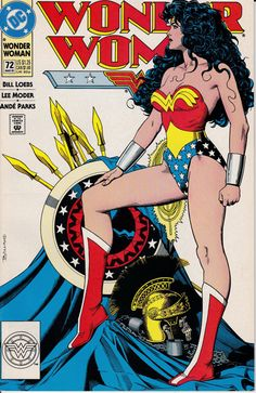 Wonder Woman 72  March 1993 Issue  DC Comics  Grade by ViewObscura