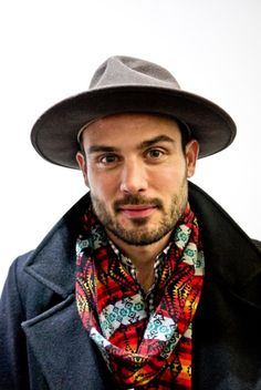 menofhabit: Awesome scarf. The Story Behind the Navajo Blanket Print