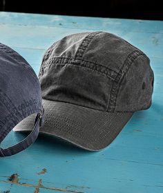 Men s Laidback Cap - The quintessential hat of summer in a quintessential  summer fabric 52a2cd56f