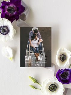 Anchors Aweigh Photo Wedding Save the Date Cards Creative Wedding Invitations, Elegant Invitations, Wedding Stationary, Big Wedding Cakes, Wedding Pins, Wedding Ideas, Wedding Reception Tables, Rustic Wedding Centerpieces, Save The Date Magnets