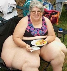 probably NEVER asks her husband if her ass looks fat in pants, coz she's got no pants, what did you think i meant?