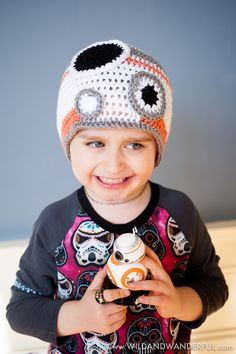 BB-8 Inspired Hat :: Free Crochet Pattern — Wild & Wanderful