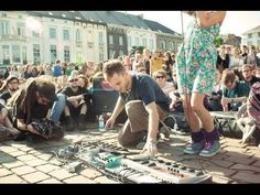 Dub FX feat. Flower Fairy - Full Street Performence live in Gent Belgium