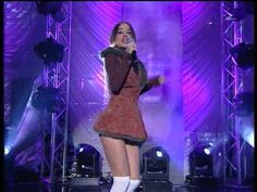 Alizee - Moi Lolita - live (HQ) - Happy July 4th Holiday. See if you can find the red, white and blue . . .