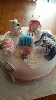 Seamstress cake x