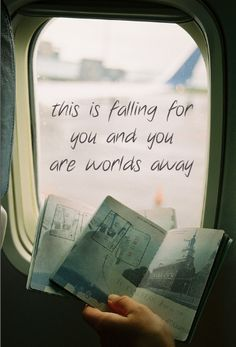 """That song, man. """"This is falling for you and you are worlds away..."""" (Come Back Be Here - Taylor Swift)"""
