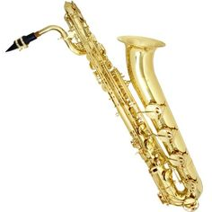 Yellow Brass Intermediate Eb Baritone Saxophone with Tuner, Pro-Deluxe Case, and Mouthpiece    Tenor Saxophone Mouthpiece  Where To Buy A Saxophone  Saxophone Alto  Silver Saxophone  Saxophone Store  Saxophone Soprano  Saxophone Store Near Me  Yamaha Baritone Saxophone  Vintage Saxophones  Yamaha Alto Saxophone For Sale  Selmer Alto Saxophone