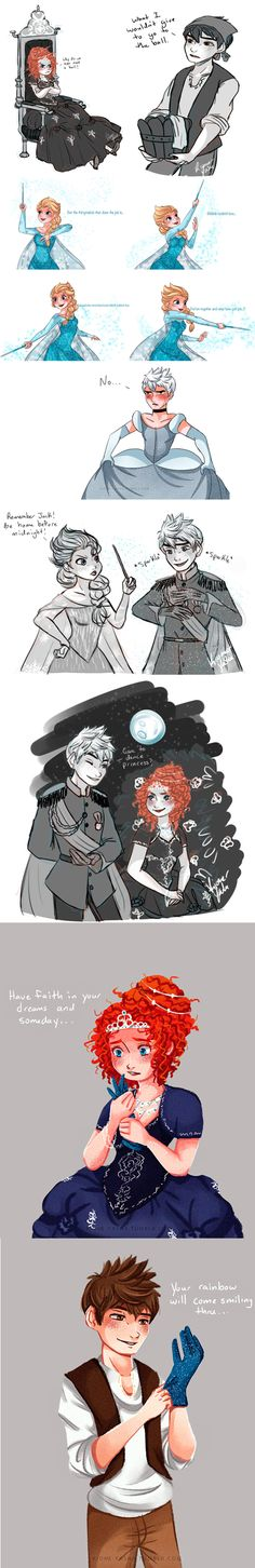 Jarida - Cinderella AU I don't ship it but this is just so cute
