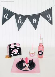Pretty Pirate Party. #BirthdayExpress #Pirate #KidsParty