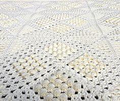 Ravelry: Nantes Matelassé Afghan pattern by Priscilla Hewitt