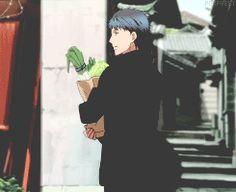 Animated gif about anime in Hakkenden: Touhou Hakken Ibun by ❀ 𝑳𝒂𝒌𝒊 ❀ Hakkenden, Cute Anime Guys, Animated Gif, Webtoon, Find Image, Gifs, Fandoms, Animation, Manga