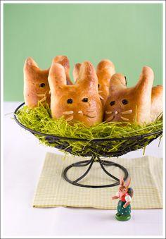 Brioche Easter Bunnies