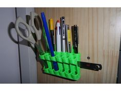 bit holder pegboard or wall mounted by franklumien thingiverse 3d printing ideas. Black Bedroom Furniture Sets. Home Design Ideas