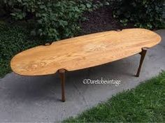 Your place to buy and sell all things handmade Danish Modern, Midcentury Modern, Mid Century Coffee Table, Coffee Tables, Surfboard Coffee Table, Large Furniture, Or Antique, Light Shades, Home Furnishings