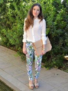 lauramfv Outfit   Otoño 2012. Combinar Pantalones Azul turquesa/aguamarina Zara, Cómo vestirse y combinar según lauramfv el 11-10-2012