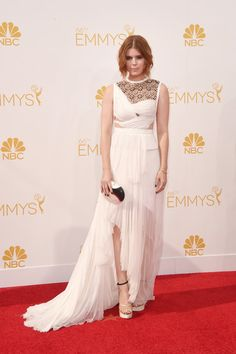 Kate Mara Photos: Arrivals at the 66th Annual Primetime Emmy Awards — Part 2