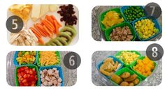 5-8 toddler lunch ideas