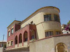 Villa Grazia, Asmara - capital of Eritrea.