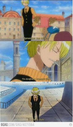 Way to go Sanji One Piece Luffy X Nami, Sanji Vinsmoke, Sanji One Piece, One Piece Manga, Anime One, Anime Manga, The Pirate King, Fanart, Kaichou Wa Maid Sama