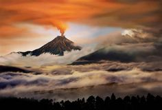 If You Like Volcanoes Behaving Badly Follow Them on Twitter