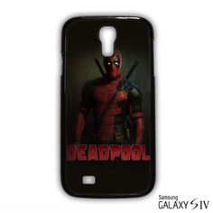 deadpool promopic for Samsung Galaxy S3/4/5/6/6 Edge/6 Edge Plus phonecases